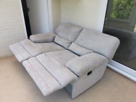 Reclining 2 chair sofa