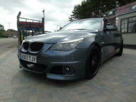 2007 BMW 5 Series 530d M Sport 4dr Step Auto, px welcome 4 door Saloon