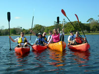 Canoes, Kayaks and SUP Lessons
