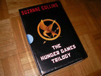 BRAND NEW THE HUNGER GAMES TRILOGY BY SUSANNE COLLINS -HARDCOVER