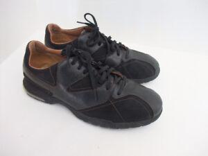 Men's Rockport Karanga Black Leather & Mesh Shoes Size 8