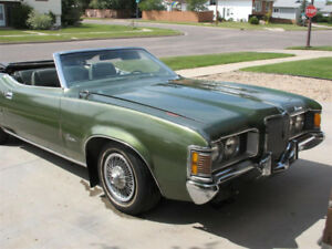72 Cougar XR7 convertible (1 of only 1,929 made)