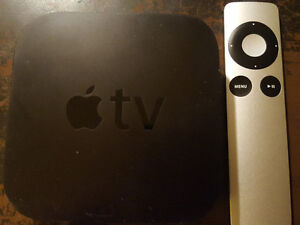 Apple TV with Remote and HDMI cord