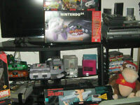 $$$Buying old generation systems and games.Nes/Snes/Sega/N64