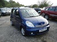 2003 Toyota Yaris Verso 1.3 T Spirit. Only 47,000 miles. 1 owner from new.