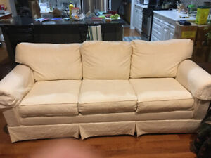 Fabulous comfy sleeper sofa  - ready for you!