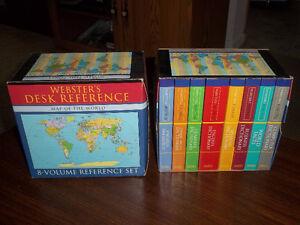 Webster Desk Reference Books