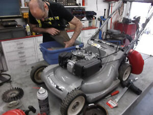Experienced Service for your Honda lawnmower