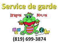 Service de garde Dragon Melon