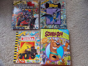 """4 """"Look/Search and Find"""" Children's books London Ontario image 1"""