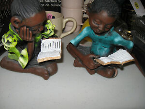 Boy & Girl Reading