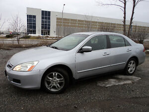 2006 Honda Accord SE PACKAGE 2.4L A GAS SAVER Sedan