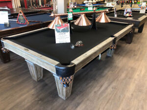 Pool Tables at the Brunswick Store
