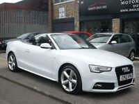 2012 Audi A5 2.0TDI ( 177ps ) S Line 2DR 12reg DIESEL WHITE