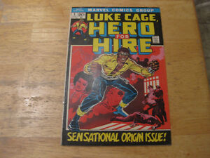 Luke Cage Hero for Hire #1 comic book