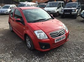 2008 Red Citroen C2 Vts Hdi Diesel £30 Tax Px welcome 85k