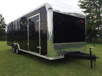 102 x 24 Enclosed Car hauler