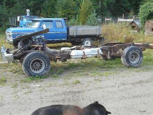 1985 chev4x4 sierra claasic chassis and body parts,