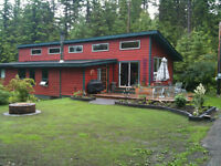 REDUCED Private home on 1.57 ac 1 min walk to Lake inc boat slip