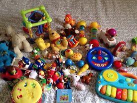 Big bag of toys
