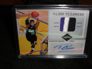 NBA BASKETBALL DEMARCUS COUSINS GLASS CLEANERS AUTO/JERSEY 6/25