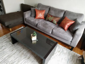 Grey 3-seater couch - $375 OBO