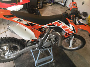 2015 Ktm 85.    10 hrs of use.  SOLD