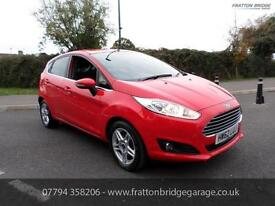 FORD FIESTA ZETEC Automatic New Shape Just 9900 miles F.S.H Must be seen, Red, A