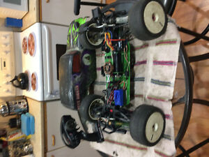 1/8  axil mantis converted to brushless