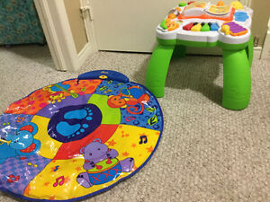 Leap frog and music mat