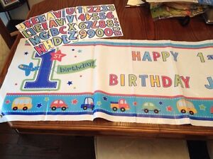 """Boys First Bday Party Decorations """" All Aboard Theme"""" Belleville Belleville Area image 8"""