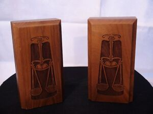 Wood bookends London Ontario image 1