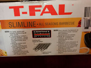 T-Fal Slimline - All Seasons BBQ - Electric grill - Grillade West Island Greater Montréal image 6