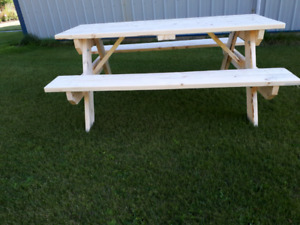 Picnic TABLES  winter special