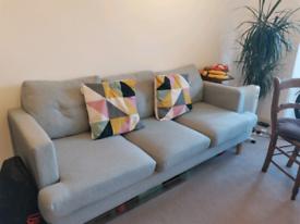 Argos sofa, three seats