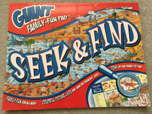 Giant Family Seek n' Find word/character search