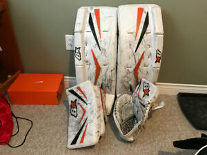 Brian's Net Zero goalie equipment