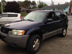 2003 Ford Escape SUV, Crossover
