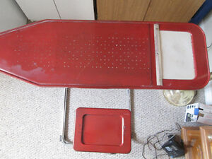 Collectible Ironing Board with Seat