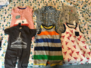 Lot of 6 months and 6-12 months boys clothing