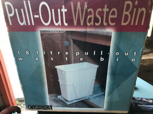 Pull out recycling bin