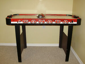 Air Hockey Table with paddles, pucks and power supply