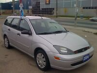 2004 FORD FOCUS WAGON, MINT CONDITION, NO RUST, LOW KM!!!!