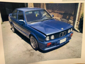 1985 BMW 325i very well maintained with a number of upgrades.