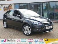 2010 (10) Ford Focus Titanium Hatchback 1.6 Manual Petrol