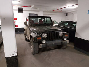 2003 Jeep TJ Sport certedied and Etested, bluetouth 2 tops+extra