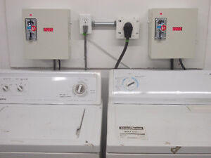 Coin Operated Washer and Dryer Domestic Conversion