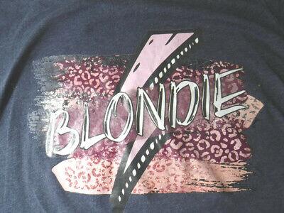 80s Tops, Shirts, T-shirts, Blouse   90s T-shirts Retro Blondie New Wave 1980's Punk Rock Music Gray Medium T-shirt $6.99 AT vintagedancer.com