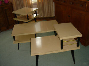 Vintage 50's 60's Arborite Coffee and End Tables London Ontario image 1