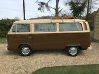 Volkswagen TRANSPORTER T2 bay window camper